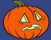 Play Jack O'Lantern Coloring
