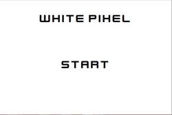 Play White Pixel