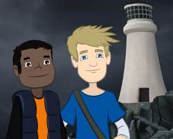 Play David and Keithan -The Haunted Lighthouse
