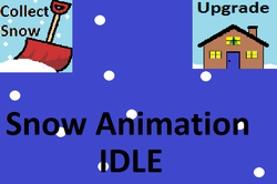 Play Snow Animation IDLE
