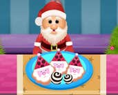 Play Santa Cookies with Icing