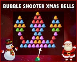 Play Bubble Shooter Xmas Bells