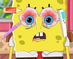 Play SpongeBob Eye Care