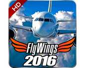 Play Flight Simulator - FlyWings 2016