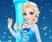 Play Elsa And Adventure Dress Up