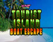 Play Knf Tourist Island Boat Escape
