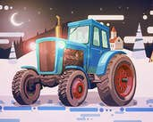 Play Christmas Tractor Racing