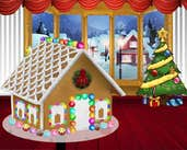 Play Gingerbread House Decor