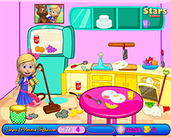 Play Goldie and Bear Clean