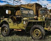 Play Military Jeep Puzzle