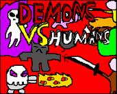 Play Demons vs Humans TD