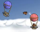 Play Porcupine Dogfight
