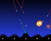 Play Inverted Missile Command