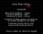 Play One Shall Rise: JAM