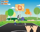 Play Basketball Catch It 2!!!
