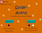 Play Spider Arena
