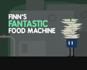 Play Finn's Fantastic Food Machine