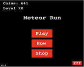 Play Meteor Run